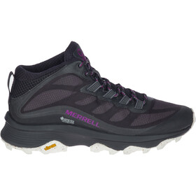 Merrell Moab Speed Mid GTX Shoes Women, black